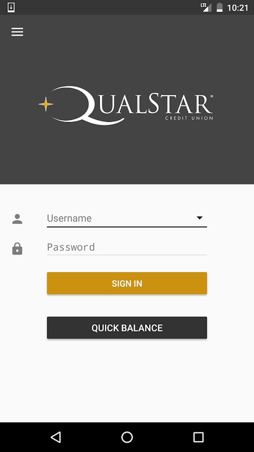 Qualstar Mobile Banking- screenshot