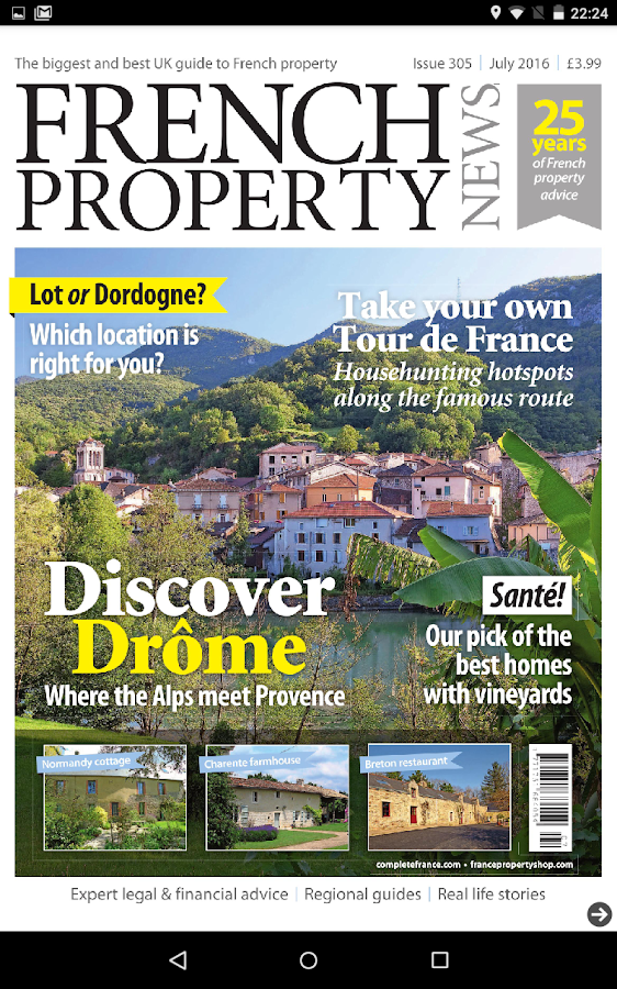 French Property News Magazine- screenshot