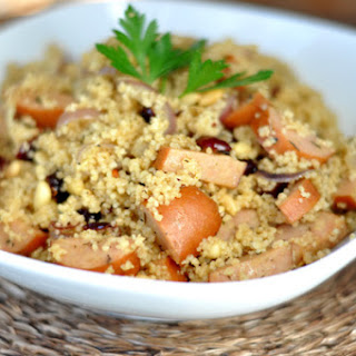 Chicken Apple Sausage Couscous