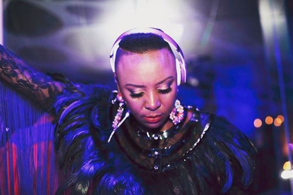 DJ Queen Choco aka Wanda Baloyi is set on setting the dance floors on fire.
