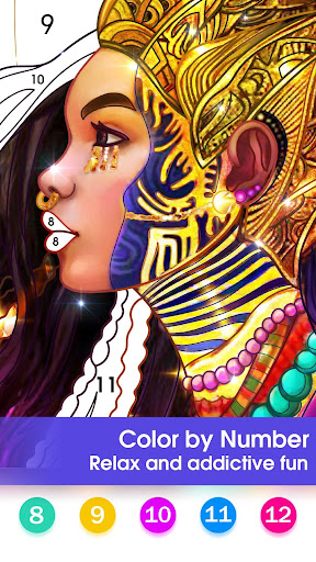 Color by Number - Happy Paint & Free Coloring Game 2.0.5 screenshots 1