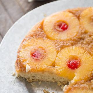 Pina Colada Upside Down Cake