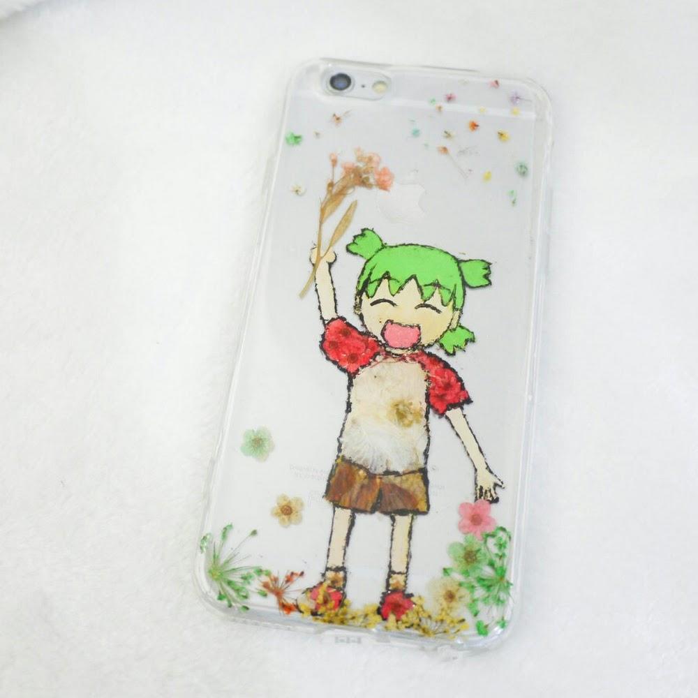 [訂製/custom-made] Pressed Flower Phone Case