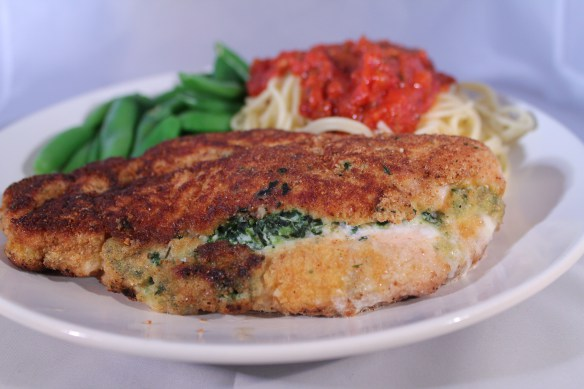 Ricotta and Spinach Stuffed Chicken Breasts Recipe | Yummly
