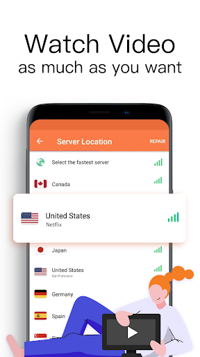 Turbo VPN Lite- Free VPN Proxy Server & Fast VPN 0.1.5 screenshots 3