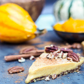 Vegan Pumpkin Pie {GF, Refined Sugar Free}