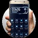 Blue Tech Hola Launcher theme icon