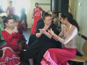 Photo: Matilde Coral z uczennicami na Festiwalu w Jerez