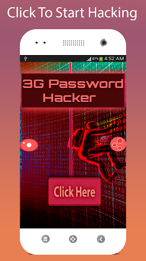 3G无线网络密码黑客恶作剧