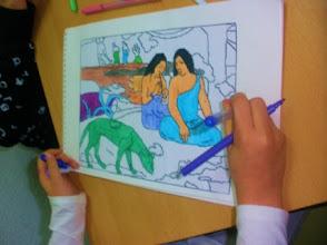 """Photo: Gauguin""""LaFelicidad"""" Alumnado 5º"""