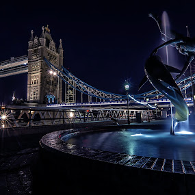 Tower Bridge by Michael Ripley - Buildings & Architecture Public & Historical ( london, city, night, cityscape, tower bridge, architecture )