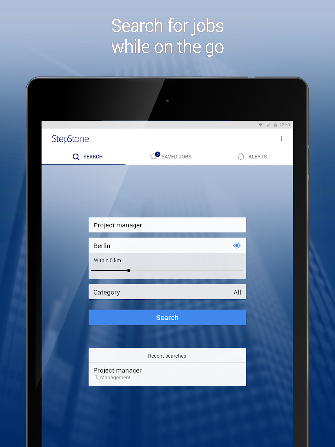 StepStone Job App- screenshot