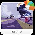 XPERIA™ Skate Theme