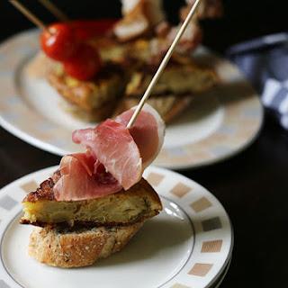 Spanish Tortilla Tapas Pinchos Recipe