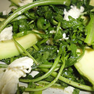 Wild Rocket, Avocado and Mozzarella Cheese Salad