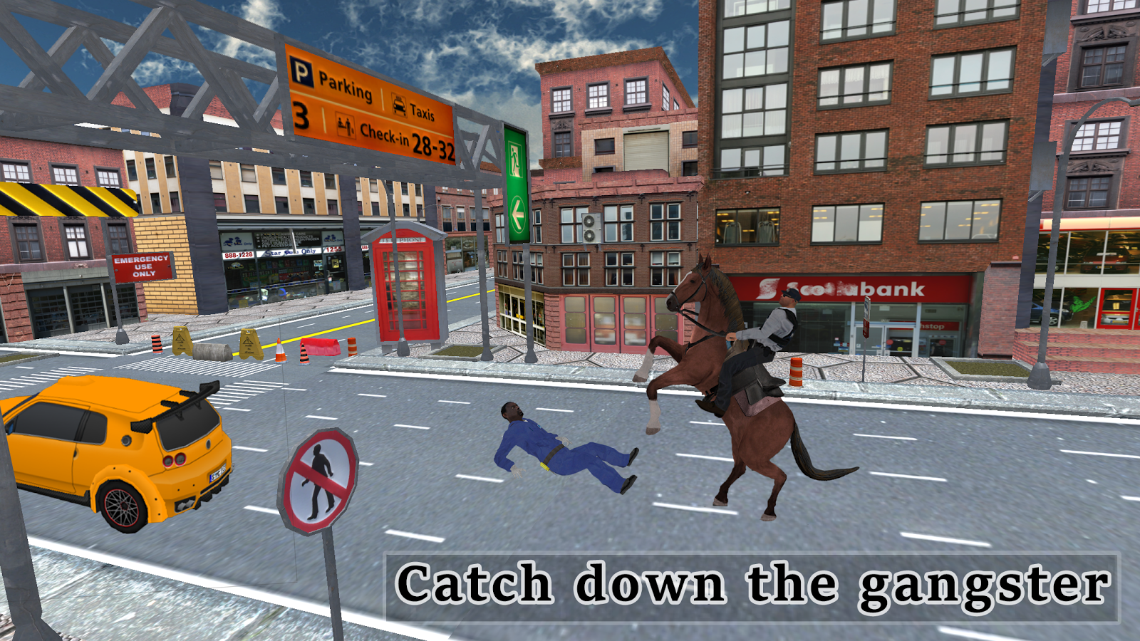 Police Horse Quest: Criminal Chase Crime City- screenshot