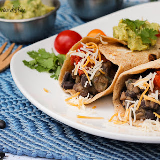 Meatless Vegetable Burritos with Black Beans