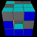 3D Sliding Cube Puzzle icon