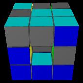 3D Sliding Cube Puzzle
