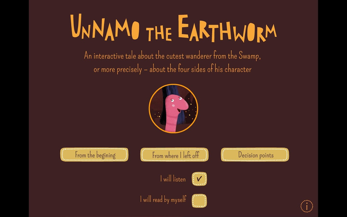 Unnamo the Earthworm- screenshot