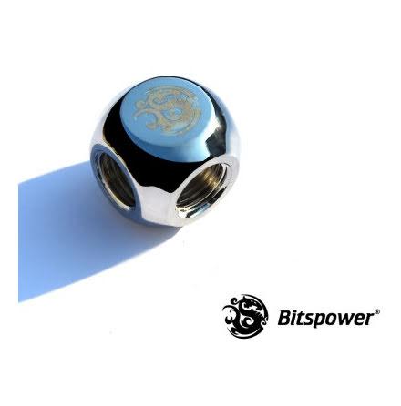 "Bitspower L-blokk, 1/4""BSPx2"