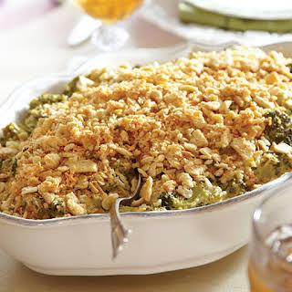 Broccoli-Cheddar Casserole.