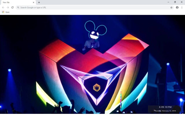 Deadmau5 New Tab & Wallpapers Collection