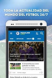 Fichajes fútbol screenshot 0