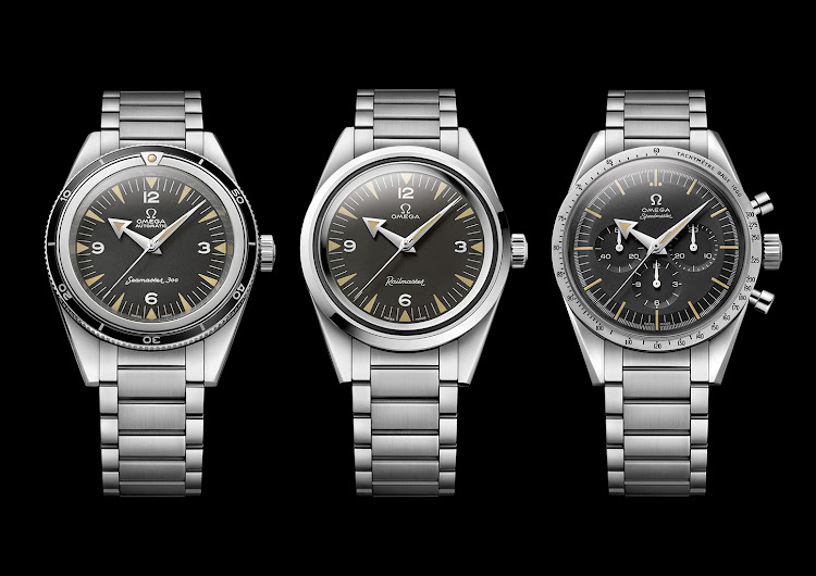 The 1957 trilogy: Seamaster, Railmaster and Speedmaster