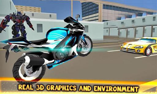 Code Triche Jeux de combat robot transformateur: jeux de robot APK MOD (Astuce) screenshots 5