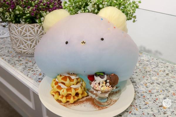 雛菊鬆餅|可愛棉花糖鬆餅VS趴趴熊牛奶浴|連正餐都超好吃的網美必訪餐廳