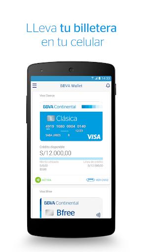 BBVA Wallet Peru00fa  screenshots 1