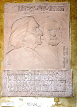 Photo: Boedapest - detail muurplaat in de  Belvárosi Templon