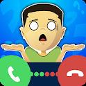 Fake call & Prank calling app icon