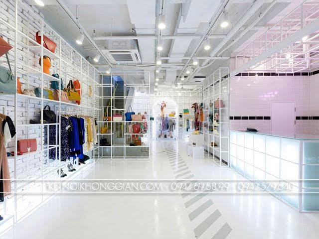 thiết kế shop túi xách thời trang 1