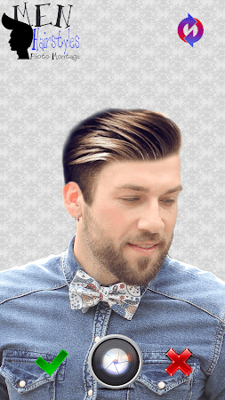 Men Hairstyles Photo Montage 3.0 screenshot 771479
