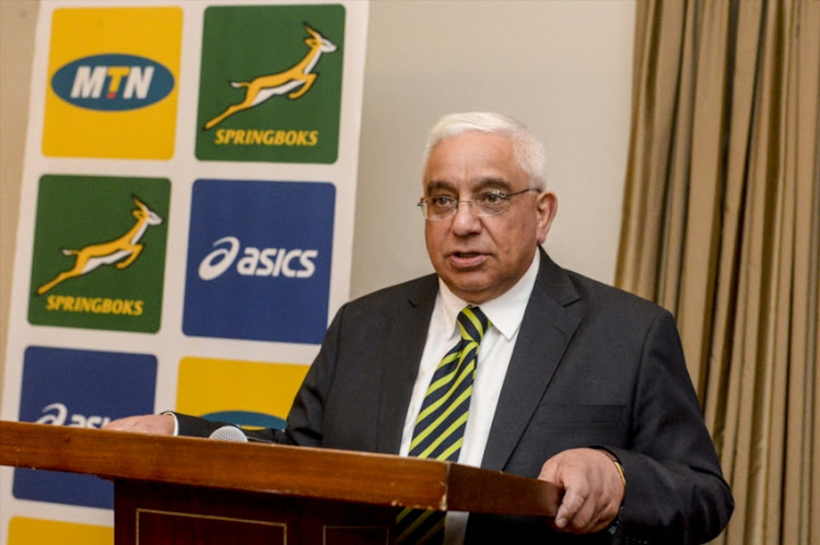 SA Rugby President Mark Alexander was part of the meeting.