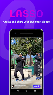 Lasso - short, fun videos Screenshot