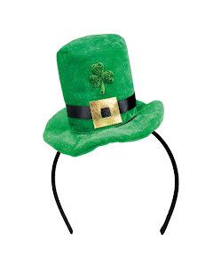 Diadem, minihatt, St Patricks Day