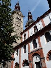 Photo: Liebfrauenkirche (14. Jhdt., mehrfach zerstört und wiederaufgebaut)