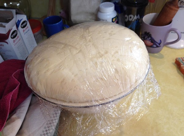 Place bowl in warm place for dough to rise until doubled in size (1...