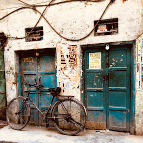 Bike by Rebecca Pollard - City,  Street & Park  Neighborhoods (  )