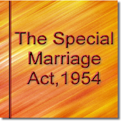 The Special Marriage Act 1954