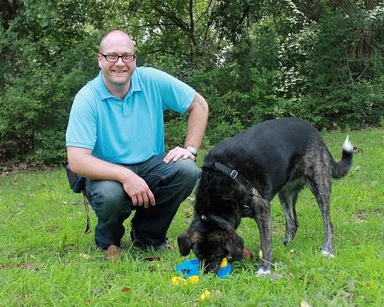 Tyler Parsons, co-owner and trainer at Padfoot Pet Services