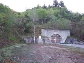 トンネルは閉鎖