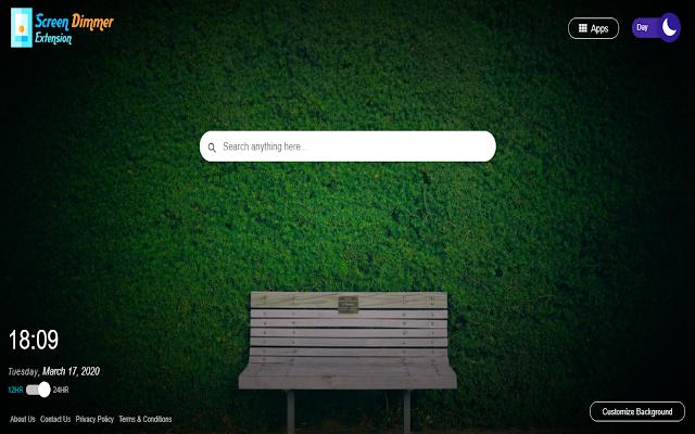 Screen Dimmer Extension