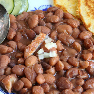 Pinto Beans & Fried Corn Bread - Southern Family Cooking.