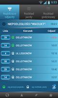 Screenshot of myBus online