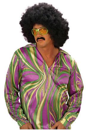 Funkyskjorta 70-tal herr, lila