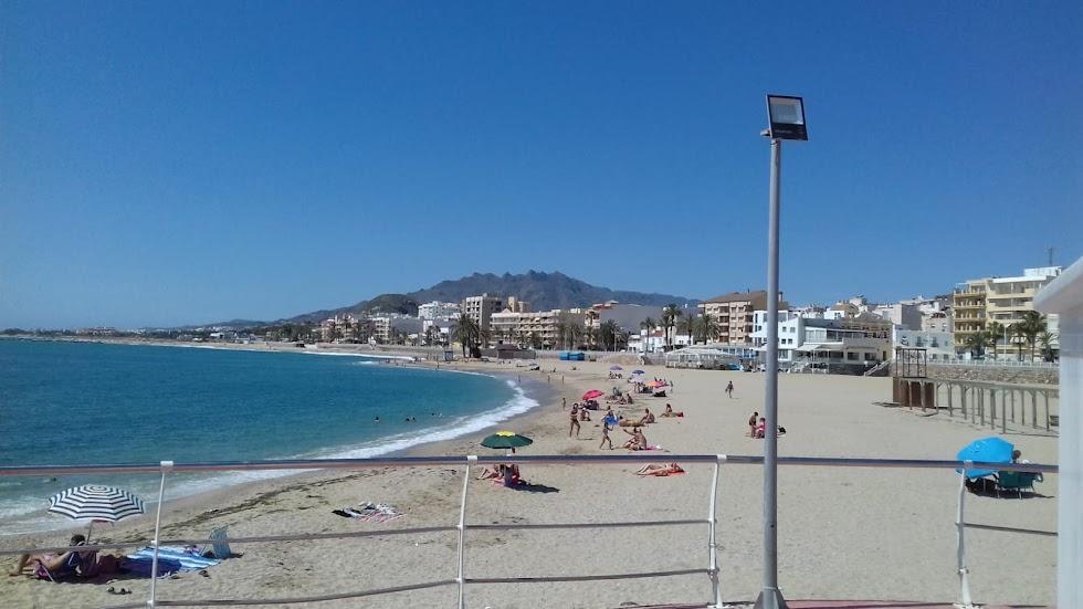 Garrucha, playa y Paseo Marítimo.